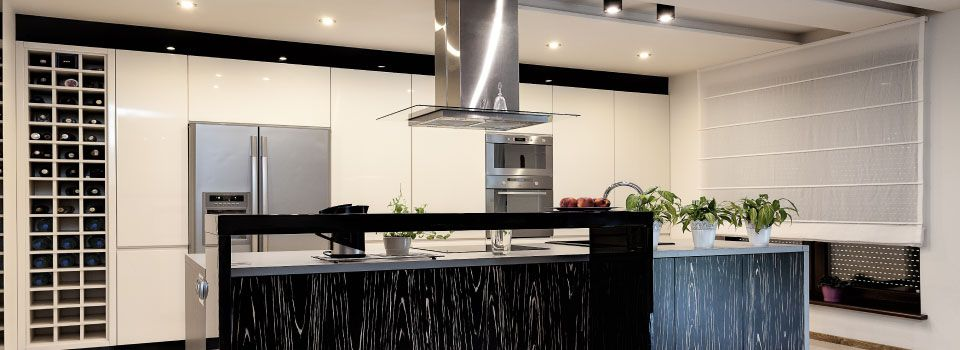 Lighted Kitchen
